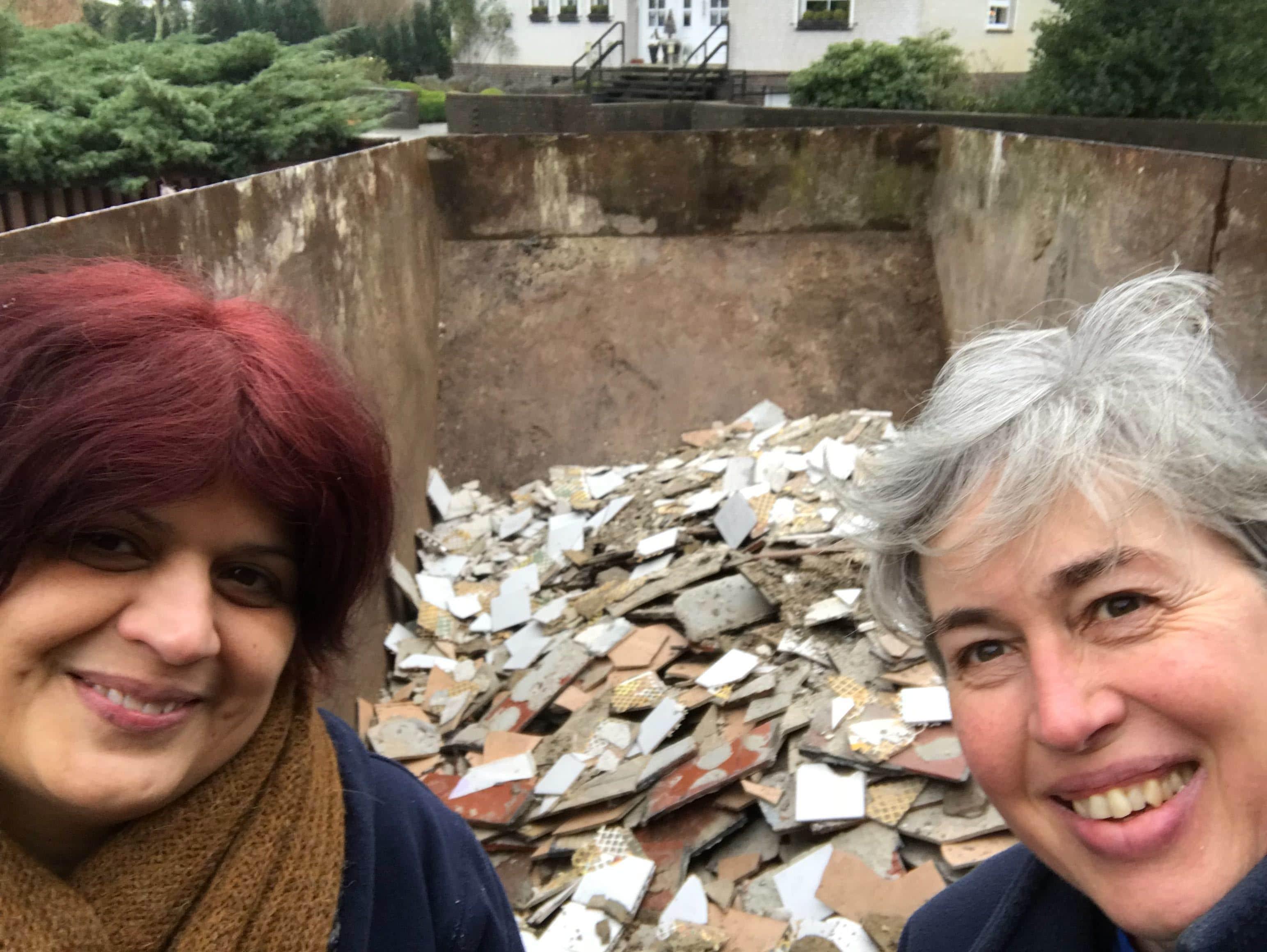 Bau der Ferienwohnung, Birgit Arnold