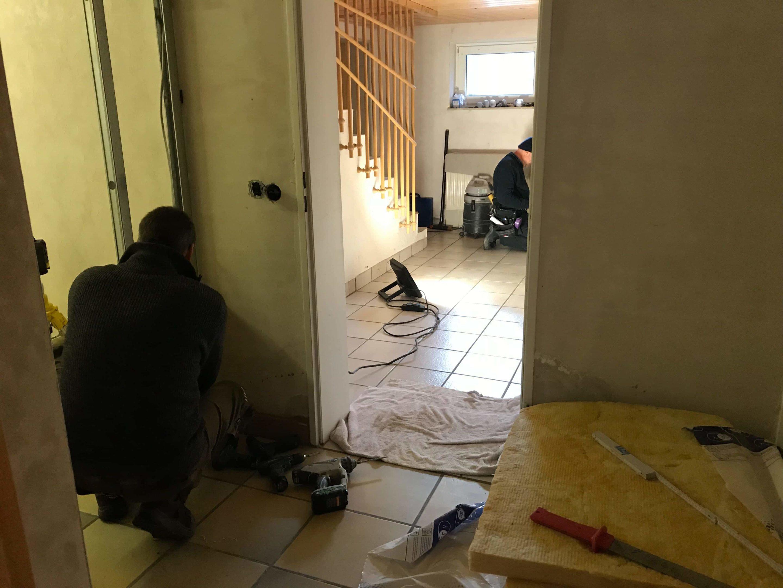 Ferienwohnung in der Bauphase